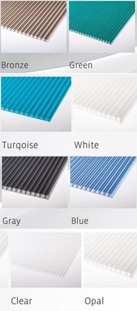 polikarbonat renk