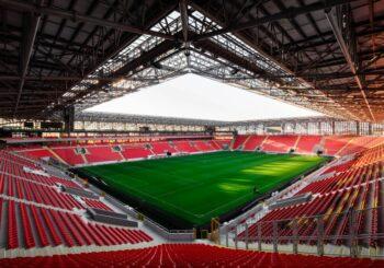 Göztepe Gürsel Aksel Stadyumu 10 mm Solid Polikarbonat Çatı Kaplaması